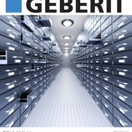 Logo Geberit mit Archivbild
