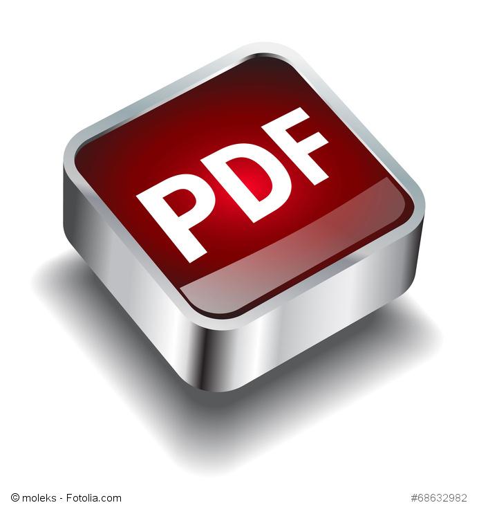 PDF Button rot