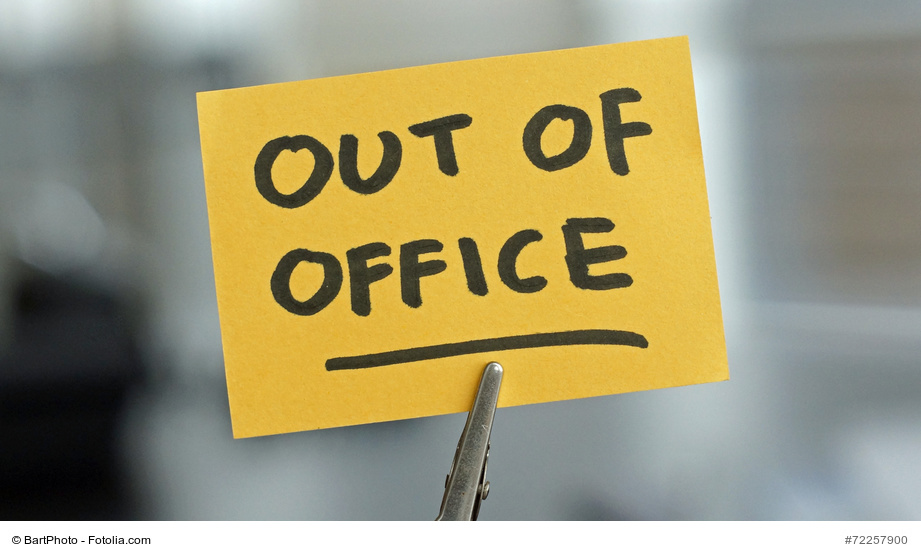 Out of office Zettel