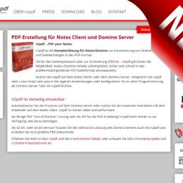 Screenshot New Version n2pdf