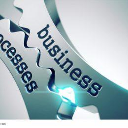 Business Prozesse greifen ineinander Bild